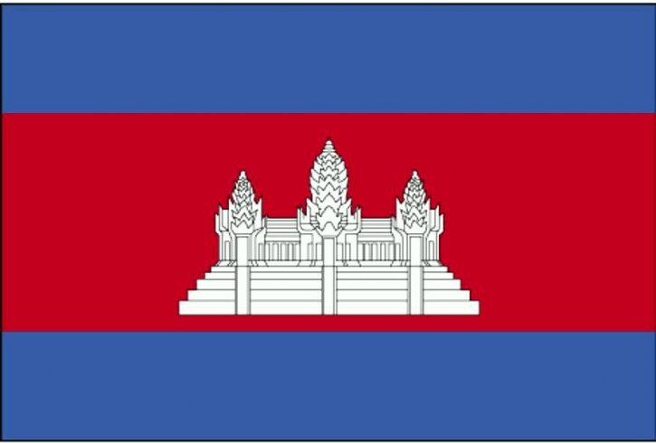Flaga, Kambodża