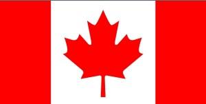 vlag, Canada