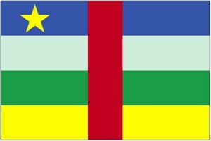 drapeau, Central, africaine, république