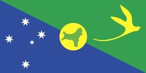 flag, Christmas, island