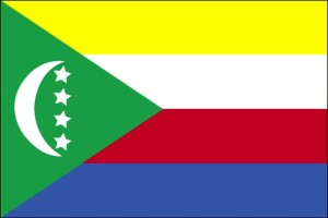 Fahne, Komoren