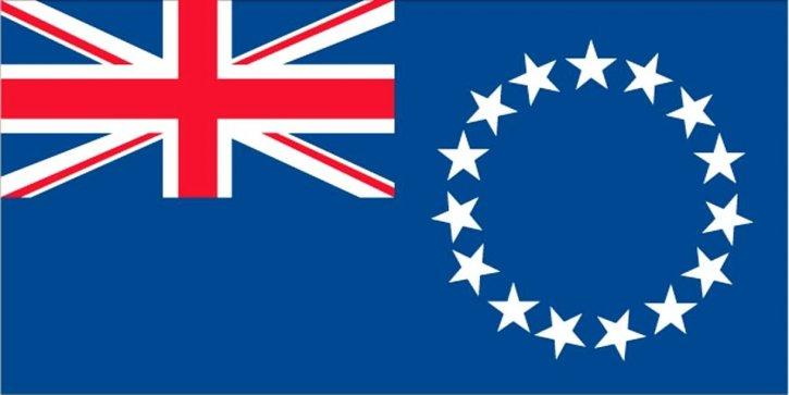 bandera, islas Cook,
