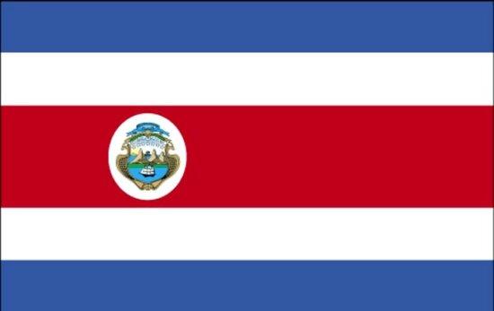 国旗, 哥斯达黎加