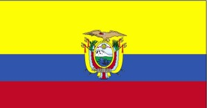 vlajka, Ekvádor