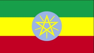 vlag, Ethiopië