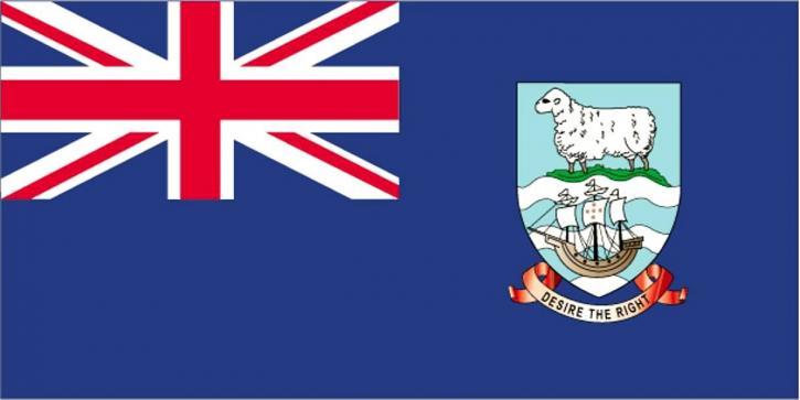 Flaga, Falklandy, Malwiny