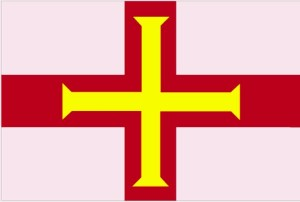 drapeau, Guernsey