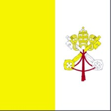 flag, holy, Vatican city