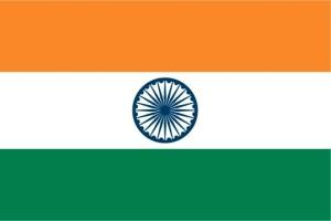 drapeau, Inde