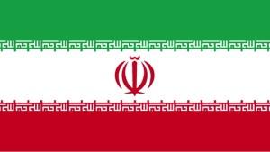 drapeau, Iran