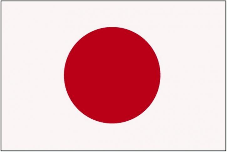 Flagge, Japan