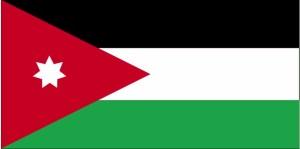 Flaga, Jordan