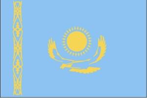 Flaga, Kazachstan
