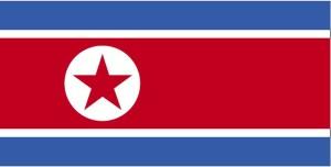 Flagge, Nordkorea