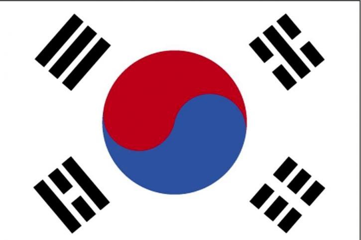 drapeau, la Corée du Sud