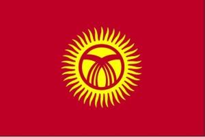 flagg, Kirgisistan