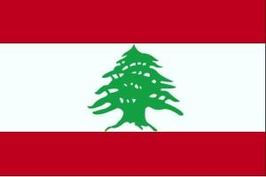 Flagge, Libanon