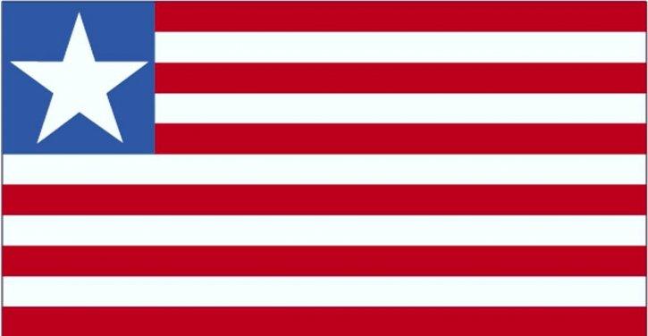 Fahne, Liberia