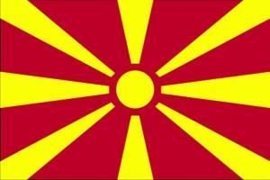 Прапор, Македонія