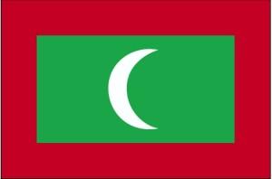 zastava, Maldivi