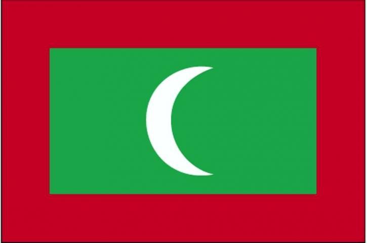 Flagge, Malediven