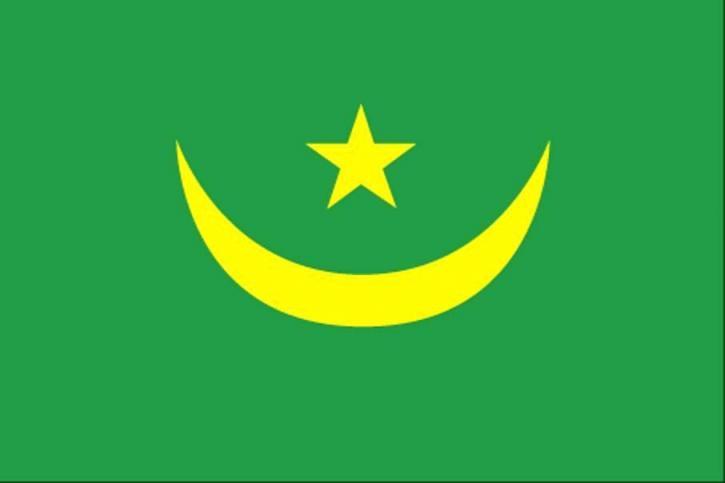 bayrak, Moritanya