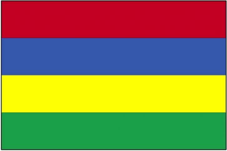 cờ, Mauritius