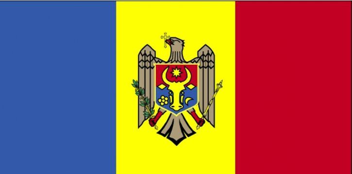 flagg, Moldova