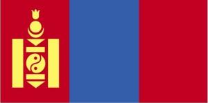 flag, Mongoliet