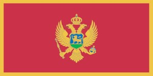 vlajka Čiernej hory