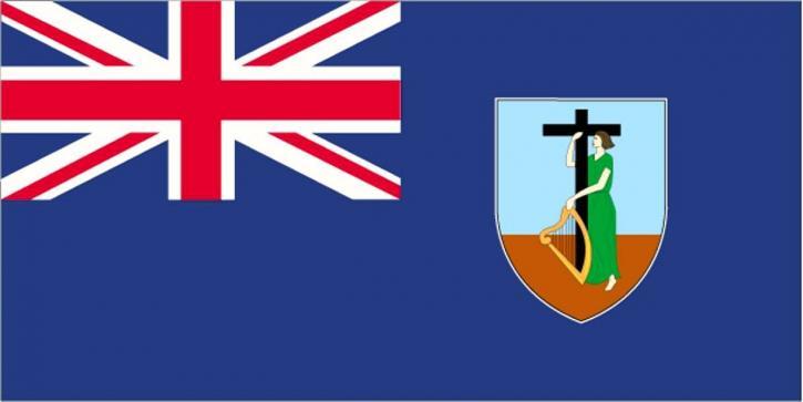 vlajka, Montserrat