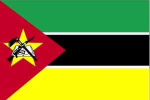 zastava, Mozambik