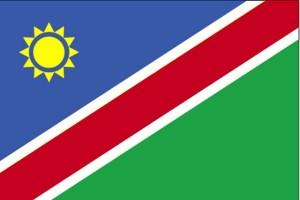 zastava, Namibija