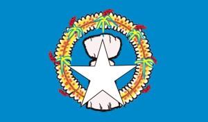 drapeau, îles Mariannes du Nord