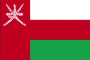 bandera, Omán