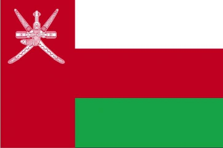 drapeau, Oman