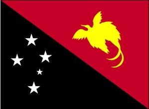 vlag, Papoea-Nieuw-Guinea