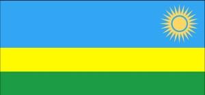 bandera, Ruanda