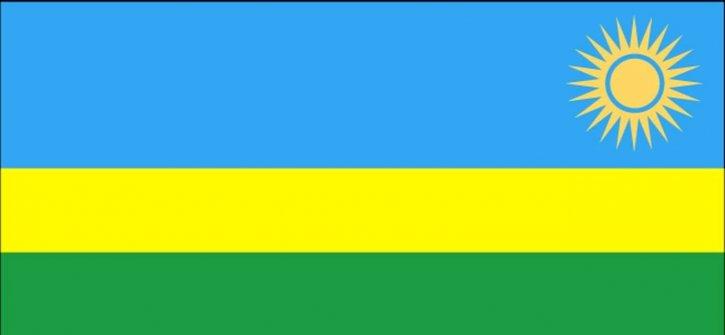 flagg, Rwanda