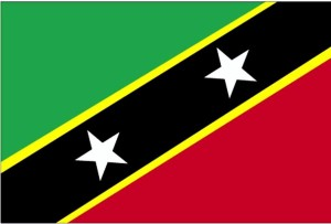 flag, Saint Kitts and Nevis