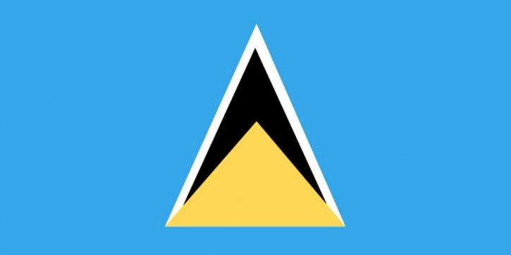 flagg, Saint Lucia