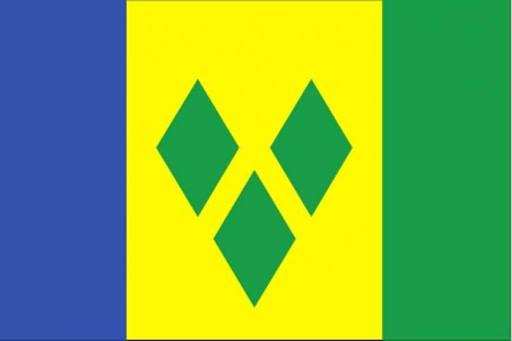 vlag, Saint Vincent en de Grenadines