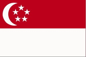 flagg, Singapore
