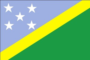 flag, Solomon Islands