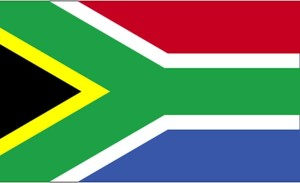 flag, South Africa