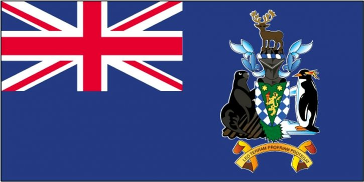 vlajka južnej Georgie, Južné Sandwichove ostrovy