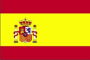 flagg, Spania