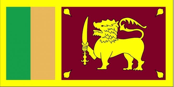 flagg, Sri Lanka