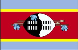 drapeau, Swaziland