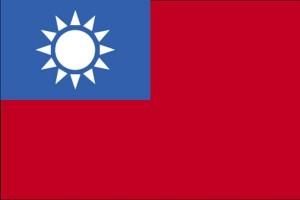 zastava, Tajvan
